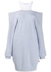 T by Alexander Wang knitted jumper dress