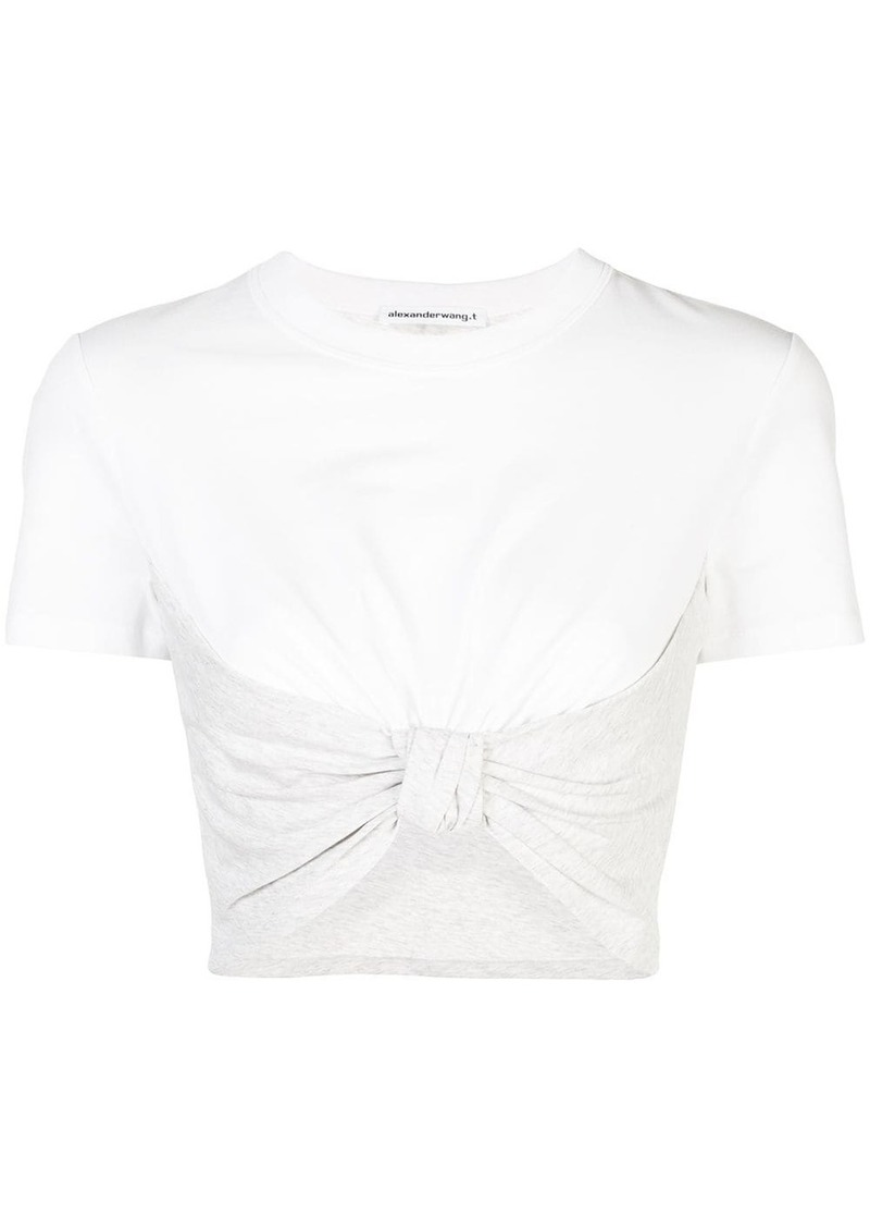 Alexander Wang knot detail T-shirt