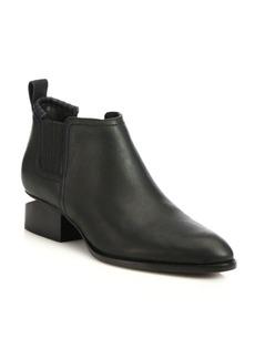 Alexander Wang Kori Notch-Heel Leather Boots