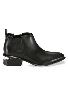 Alexander Wang Kori Rose Gold & Leather Chelsea Boots