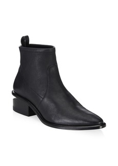 Alexander Wang Kori Stretch-Leather Sock Boots