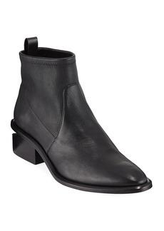 Alexander Wang Kori Stretch Leather Booties
