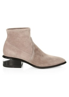 Alexander Wang Kori Stretch-Suede Sock Boots