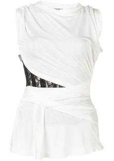 Alexander Wang lace cut out vest