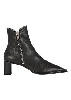 Alexander Wang Lane Zip Leather Booties