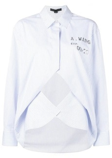 Alexander Wang layered striped shirt