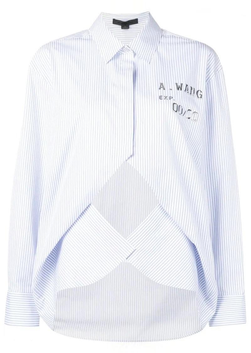 Alexander Wang layered striped shirt