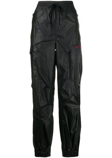 Alexander Wang leather-look track pants