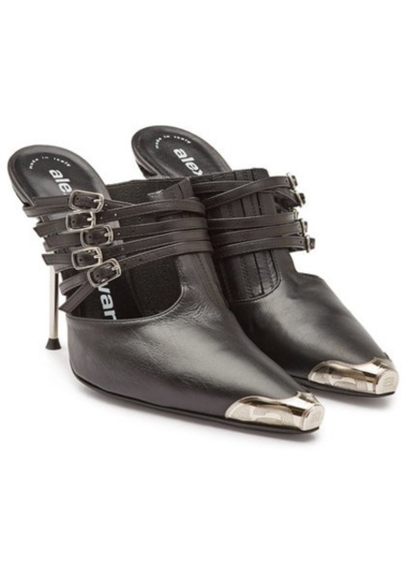 Alexander Wang Leather Minna Mules