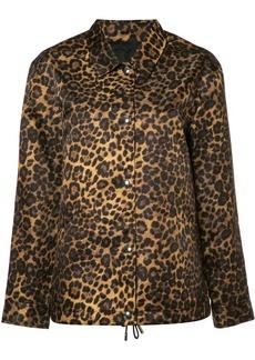 Alexander Wang leopard print jacket