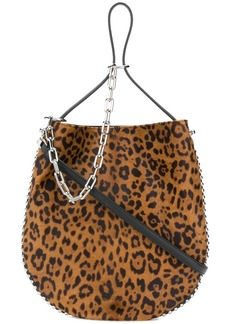 Alexander Wang leopard print shoulder bag