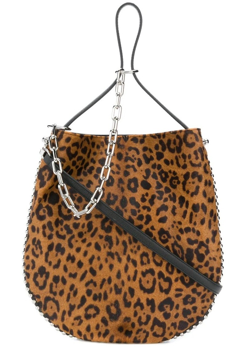 Alexander Wang leopard print shoulder bag