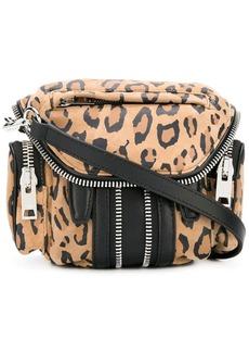 Alexander Wang leopard print zipped crossbody bag