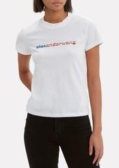Alexander Wang Logo Decal T-Shirt