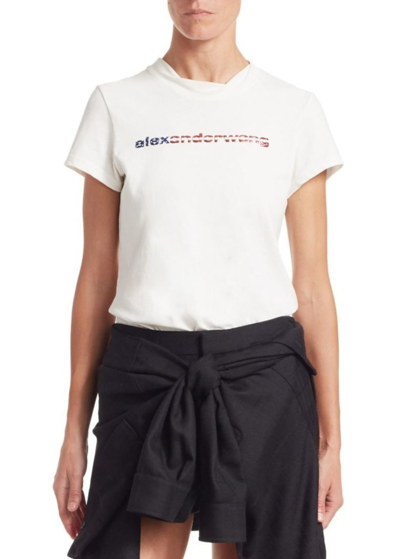 Alexander Wang Logo Decal Tee
