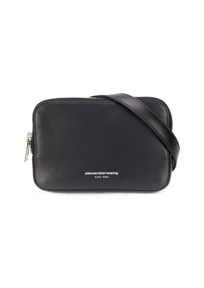 logo-print belt bag