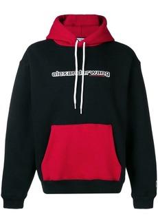 Alexander Wang logo print hoodie