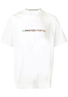 Alexander Wang logo print T-shirt