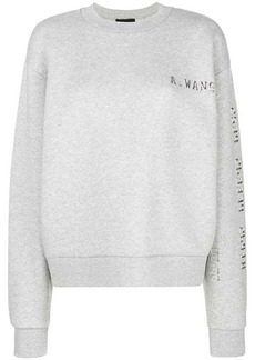 Alexander Wang logo printed sweater