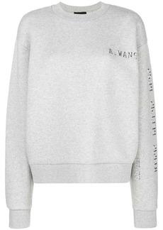 Alexander Wang logo printed sweater
