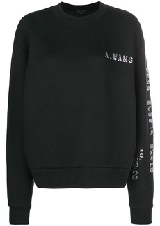 Alexander Wang logo sweater