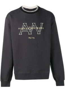 Alexander Wang logo sweatshirt