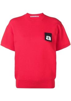 Alexander Wang logo tag top