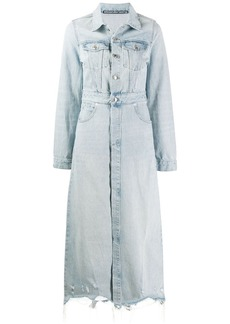 Alexander Wang long length denim coat