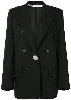 Alexander Wang longline single breasted blazer