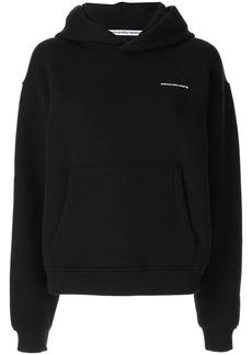 Alexander Wang loose-fit logo hoodie