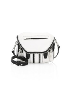 Alexander Wang Marti Micro Leather Shoulder Bag