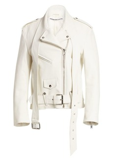 Alexander Wang Martingale Leather Moto Jacket