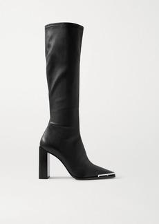 Alexander Wang Mascha Leather Knee Boots