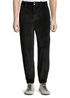 Alexander Wang Men's Wide-Wale Corduroy Trousers