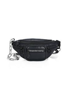 Alexander Wang Mini Attica Leather Chain Convertible Belt Bag