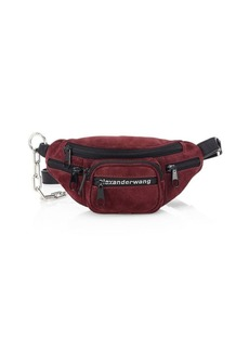 Alexander Wang Mini Attica Soft Suede Belt Bag