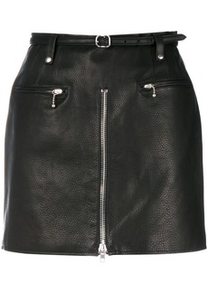 Alexander Wang mini biker skirt