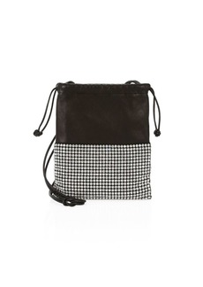 Alexander Wang Mini Ryan Embellished Leather Dust Bag