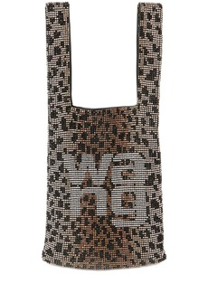 Alexander Wang Mini Wangloc Embellished Shopper Bag
