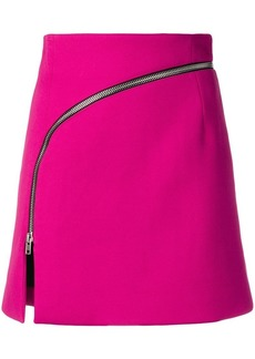 Alexander Wang mini zipped skirt