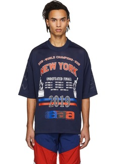 Alexander Wang Navy 'World Championships' T-Shirt