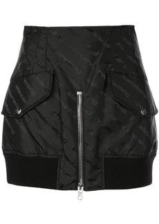 Alexander Wang nylon logo mini skirt
