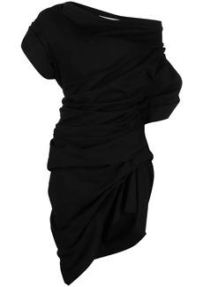 Alexander Wang off-shoulder gathered-detail dress