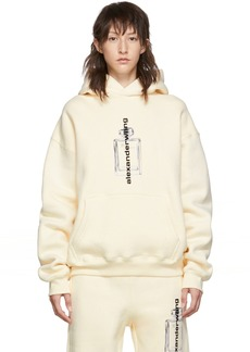 Alexander Wang Off-White Graphic Hoodie