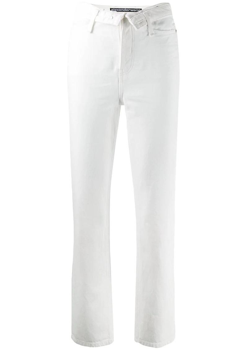 Alexander Wang open front jeans