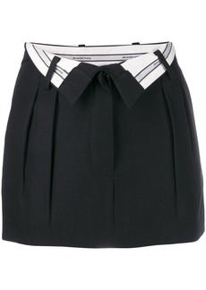 Alexander Wang open waist mini skirt