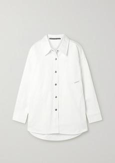 Alexander Wang Oversized Denim Shirt