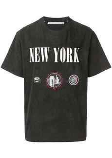 Alexander Wang oversized New York T-shirt