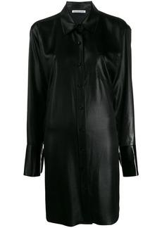 T by Alexander Wang oversized shirt dress