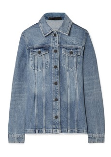 Alexander Wang Paneled Denim Jacket